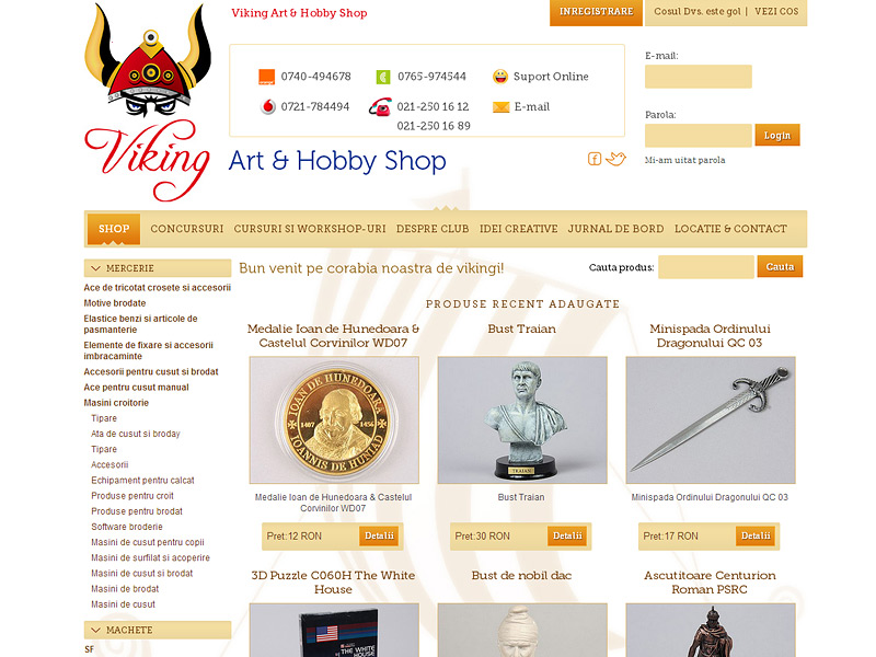 Magazin virtual Viking Shop